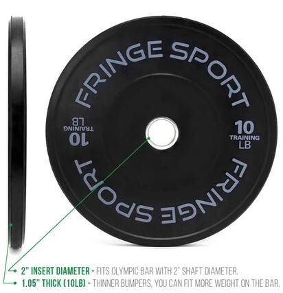 CONTRAST BUMPER PLATE PAIRS